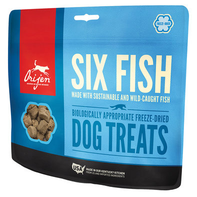 Freeze Dried Dog Treat - Six Fish