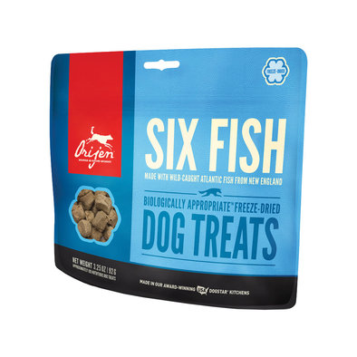 Freeze Dried Treat - 6 Fish