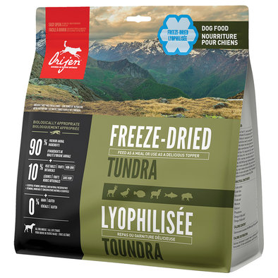 Freeze Dried Dog Food - Tundra