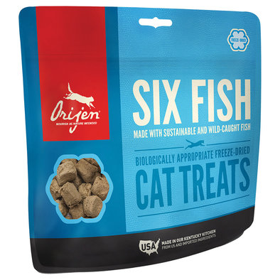 Feline, Freeze Dried Treat - Six Fish - 35 g
