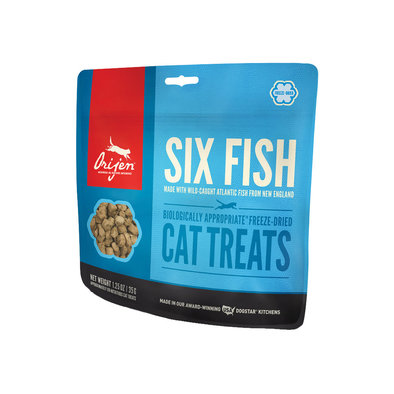 Feline FD Treat - 6 Fish - 35 g
