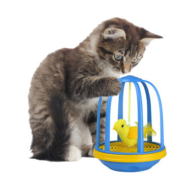 Bird in Cage Action Toy