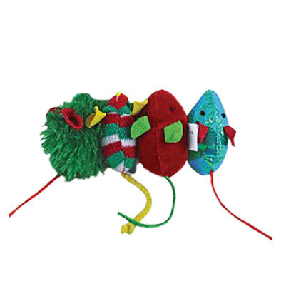 Holiday Mice Cat Toy Assortment