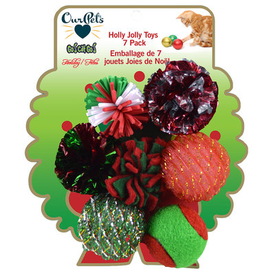 Holiday Wreath Cat Toys