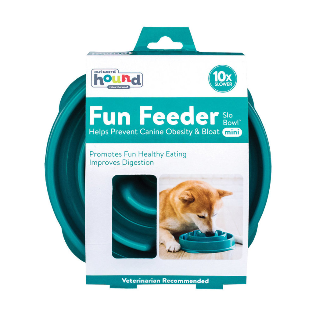 View larger image of Fun Feeder Drop - Turquoise - Small