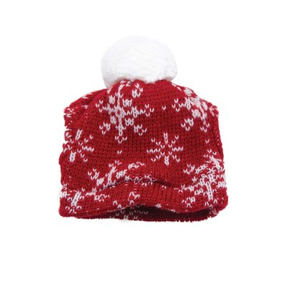 Holiday Beanie - Red