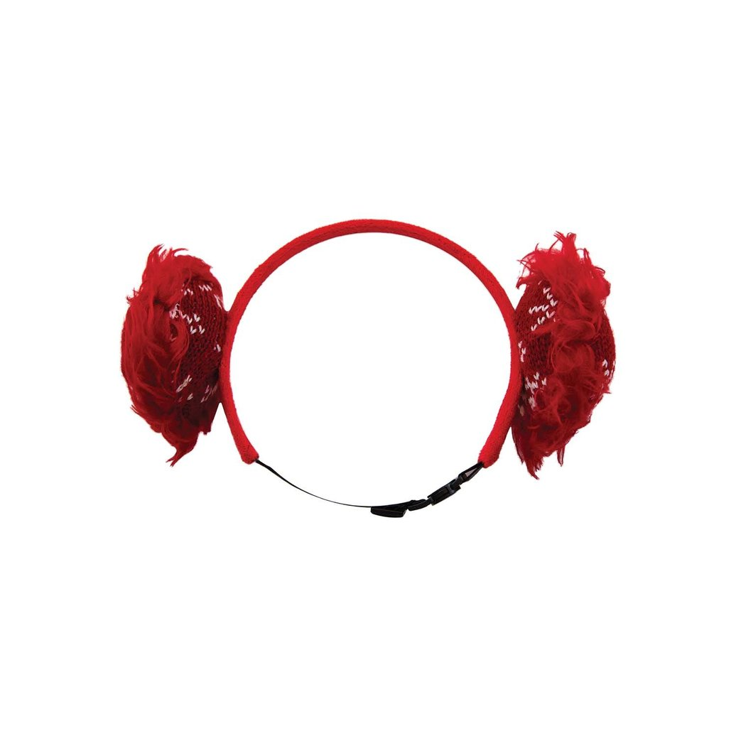 View larger image of Holiday Earmuffs - Red