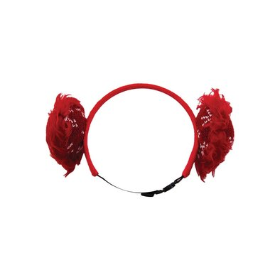 Holiday Earmuffs - Red
