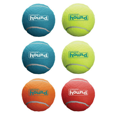 Squeaker Ballz - 6 pk - Medium