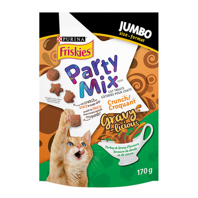 Party Mix - Turkey & Gravy - 170 g