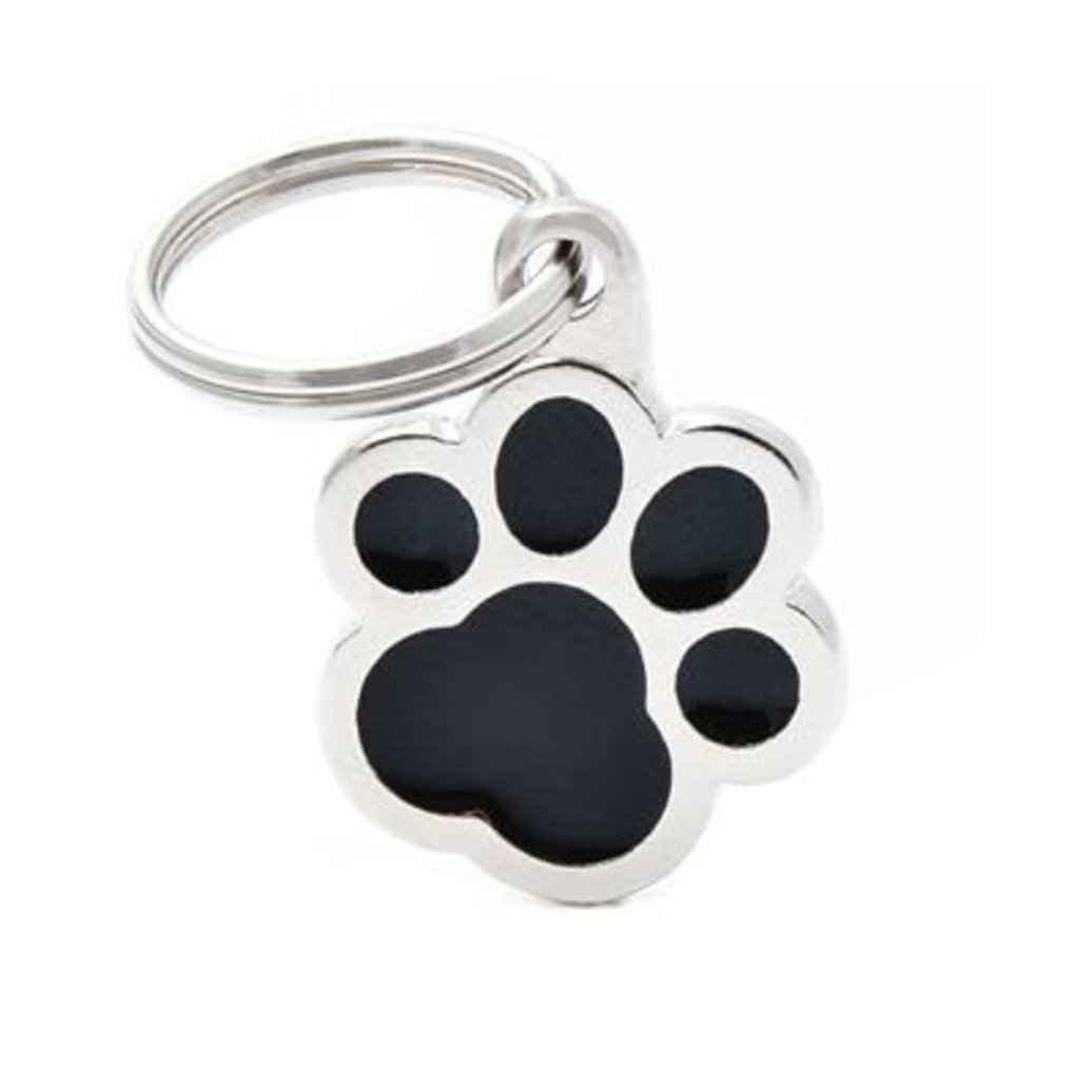 View larger image of Pawprint - Black - Big