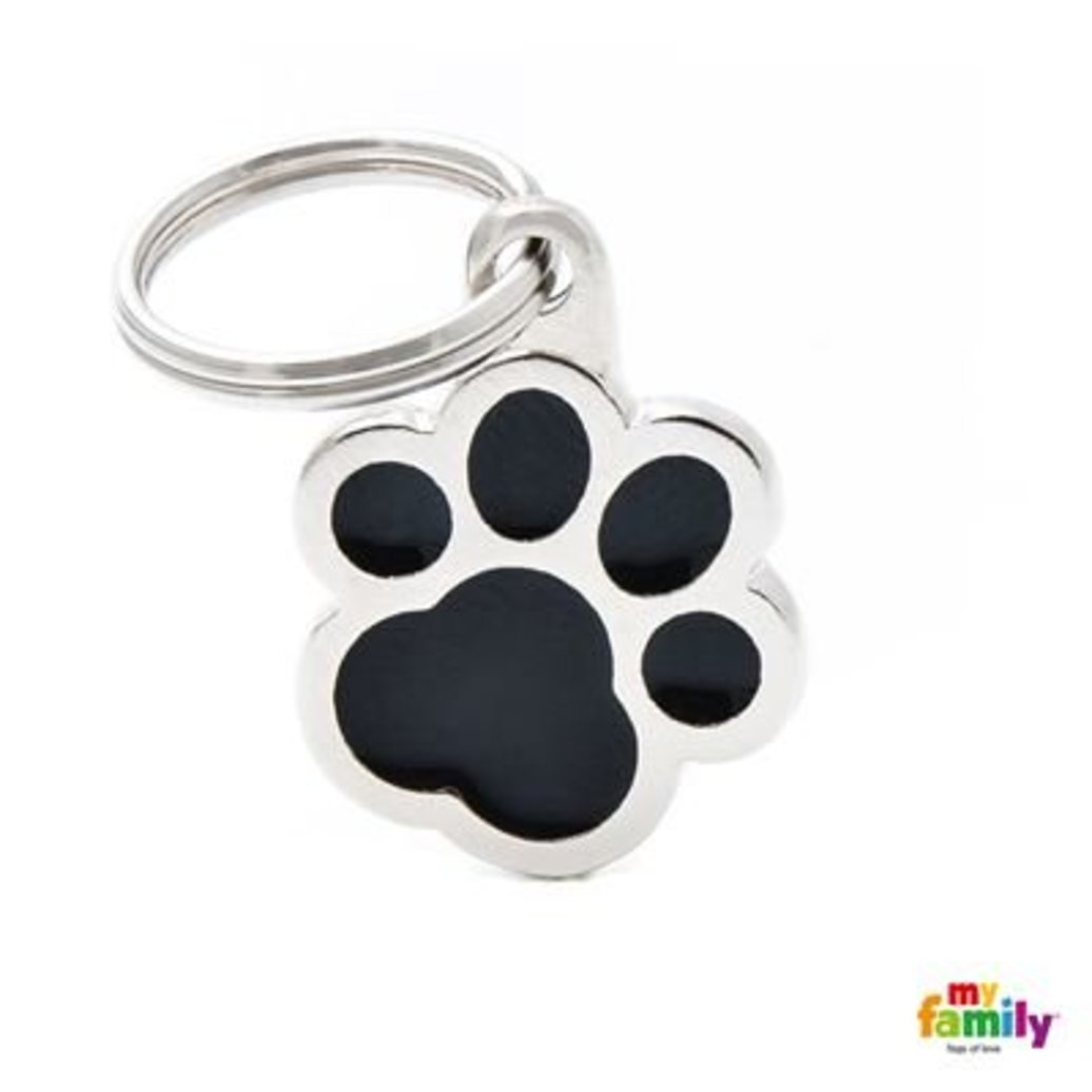 View larger image of Pawprint - Black