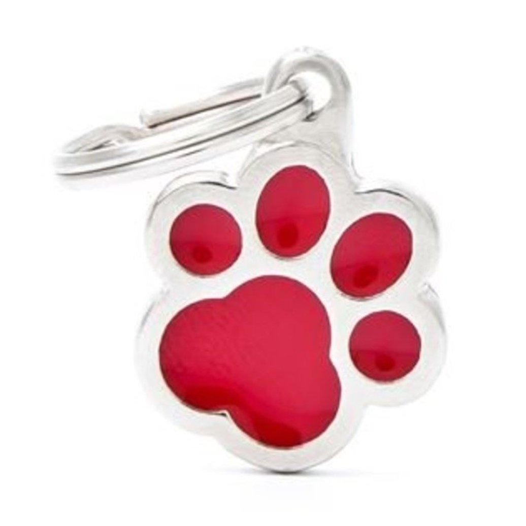 View larger image of Pawprint - Red