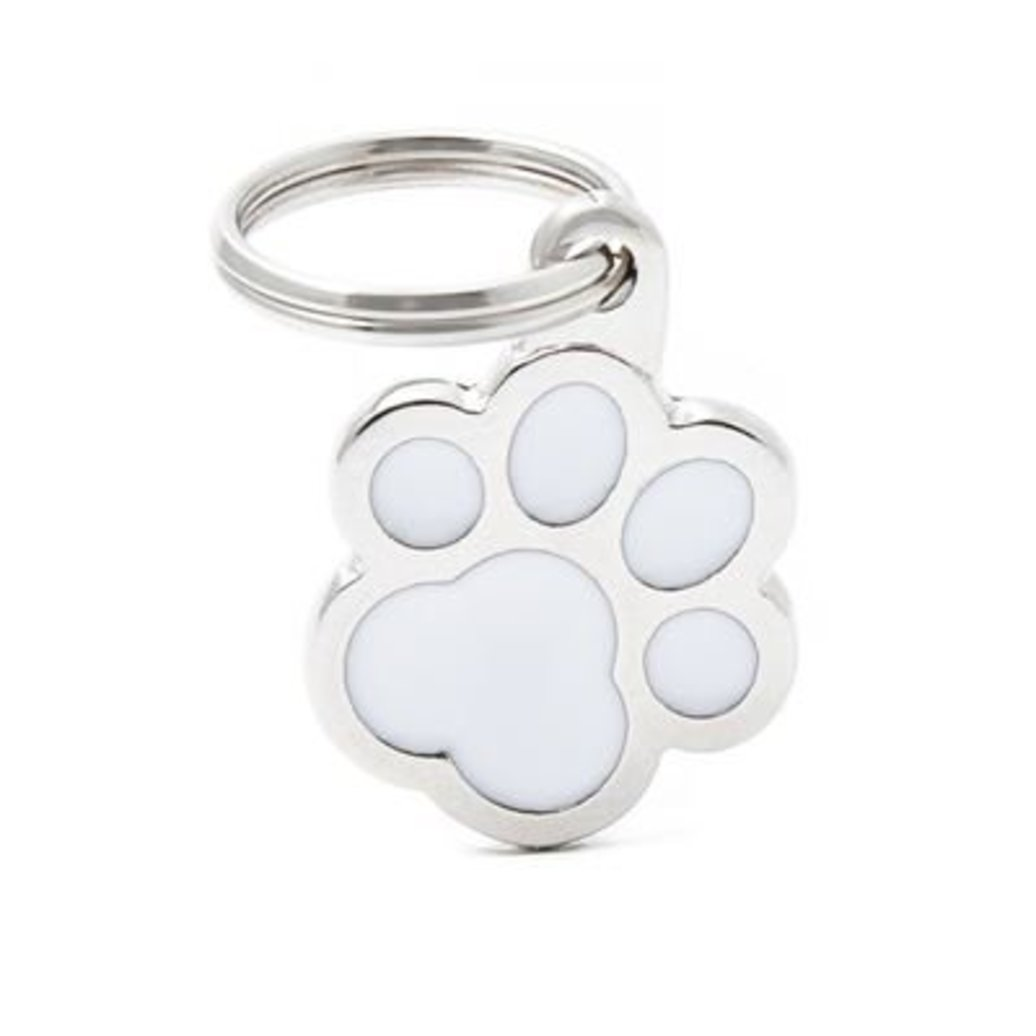 View larger image of Pawprint - White - Big