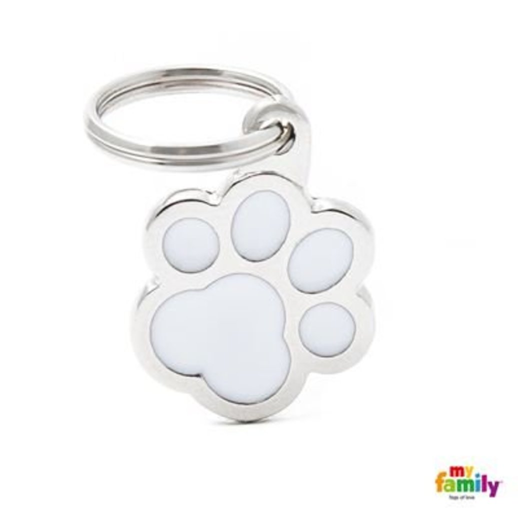 View larger image of Pawprint - White