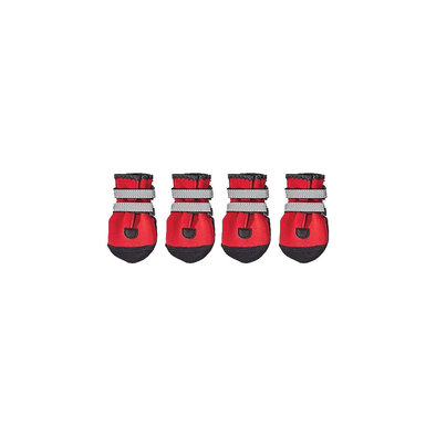 Dog Boots - Red - Medium
