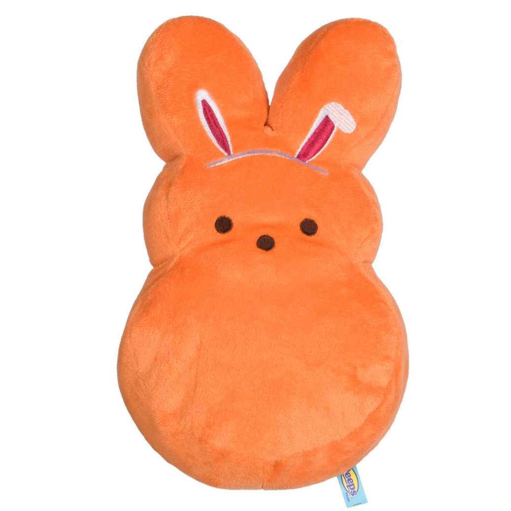 View larger image of Peeps, Dress Up Bunny - Bunny Ears - Orange