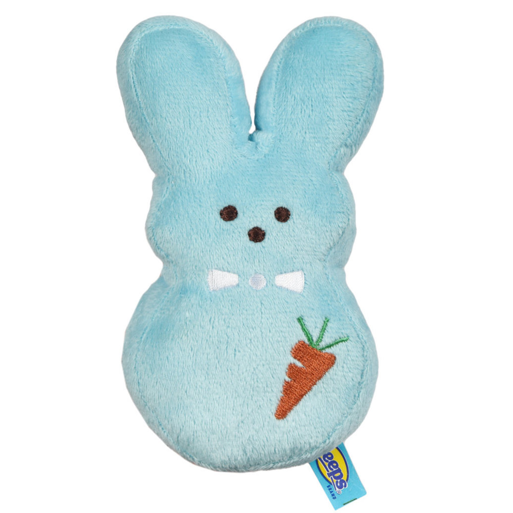 View larger image of Peeps, Dress Up Bunny - Carrot - Blue