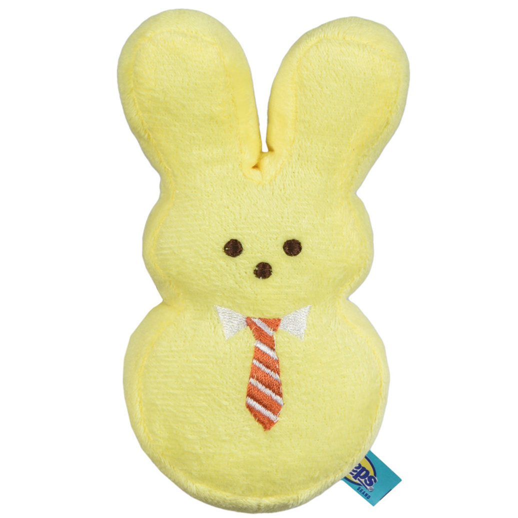 View larger image of Peeps, Dress Up Bunny - Mister - Yellow
