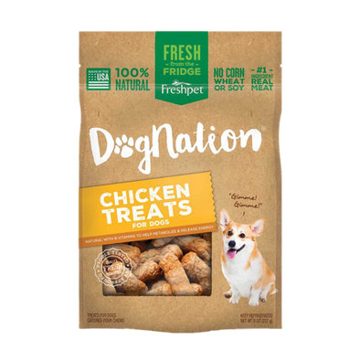 Pet Fresh, Dog Nation Chicken Treats - 0.5 lb