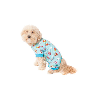 AOP Food Pajamas - Blue