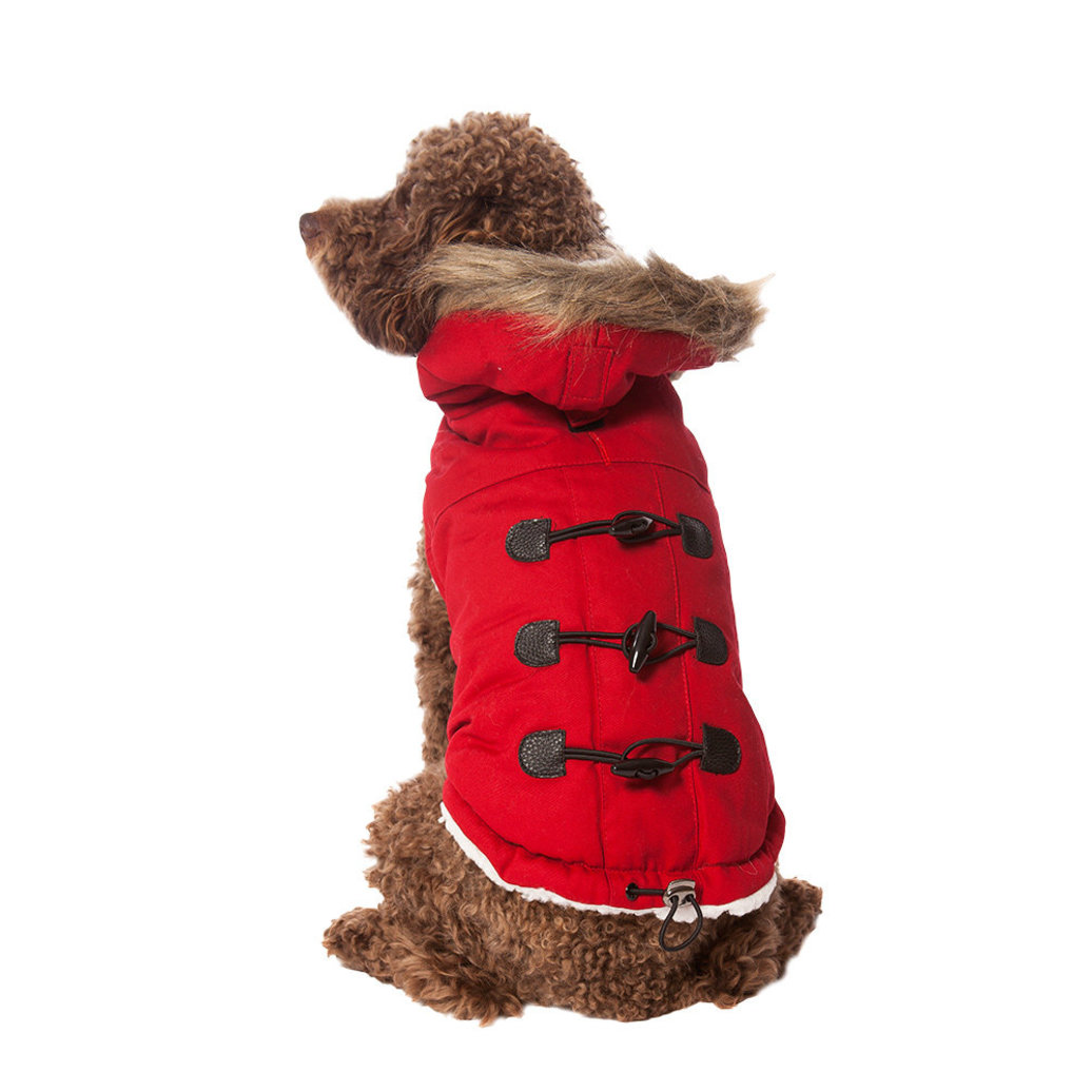 View larger image of Pet Posse, Canvas Parka - Red