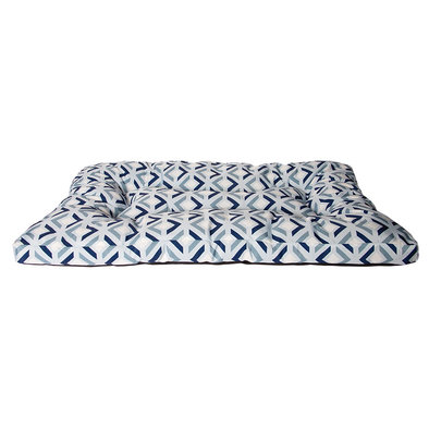 Embossed Bone Bed - All Over Print - Light Blue - 36x27""