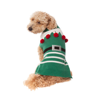 Pet Posse, Holiday Sweater - Green Elf