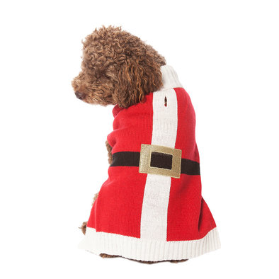 Pet Posse, Holiday Sweater - Red Santa