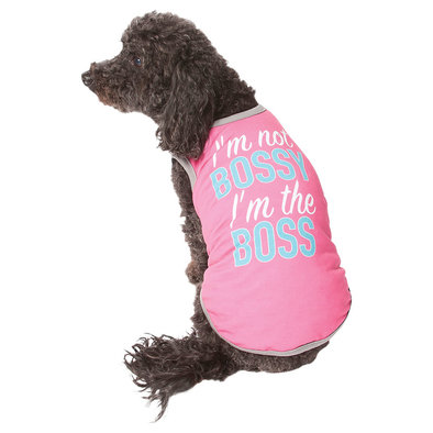 I'm Not Bossy, I'm The Boss Tank - Pink
