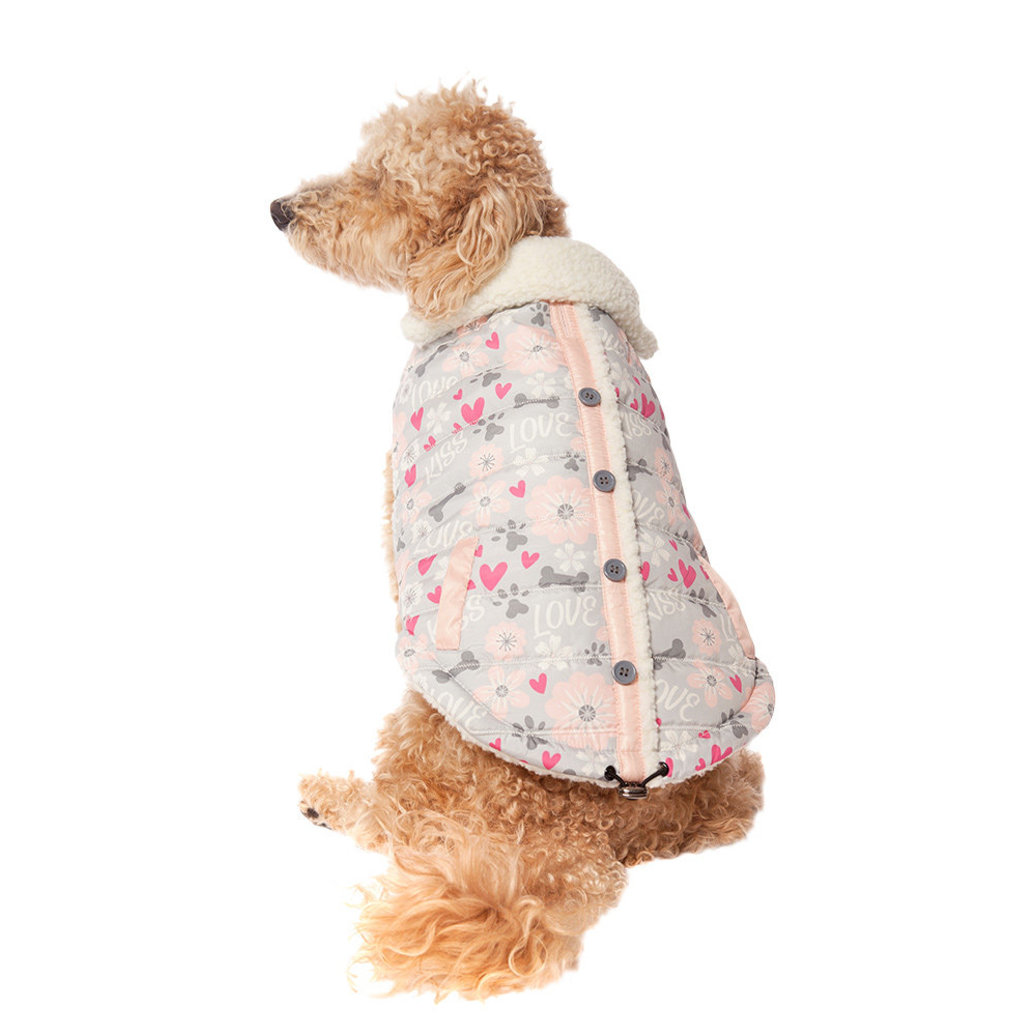 View larger image of Love Vest w/ Sherpa Lining - Pink