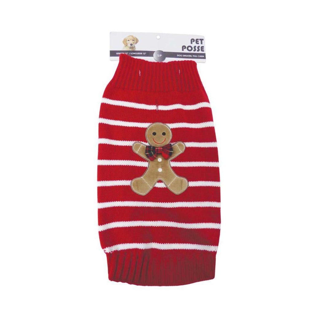 View larger image of Mock Neck Sweater - Gingerbread - Red