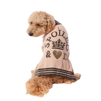Pet Posse, Sequins Sweater Spoiled - Pink