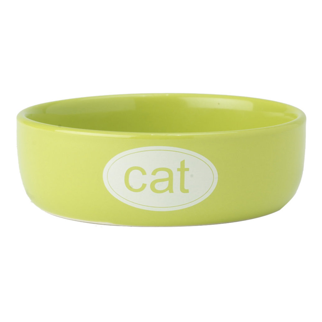 View larger image of Cat Bowl - Lime - 1 Cp