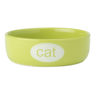 Cat Bowl - Lime - 1 Cp