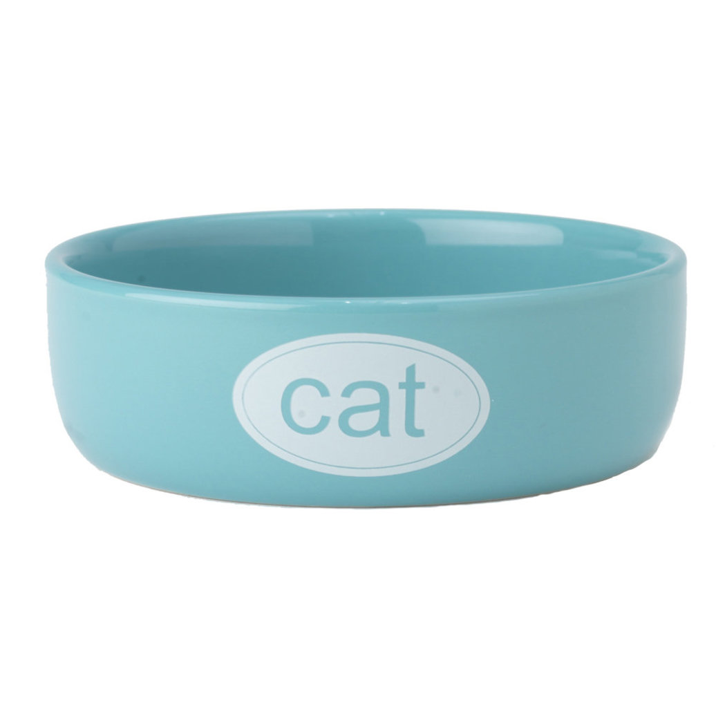View larger image of Cat Bowl - Turquoise - 1 Cp