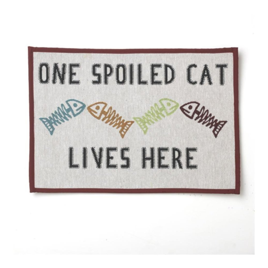 View larger image of Spoil Cat Placemat Natural