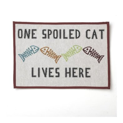 Spoil Cat Placemat Natural