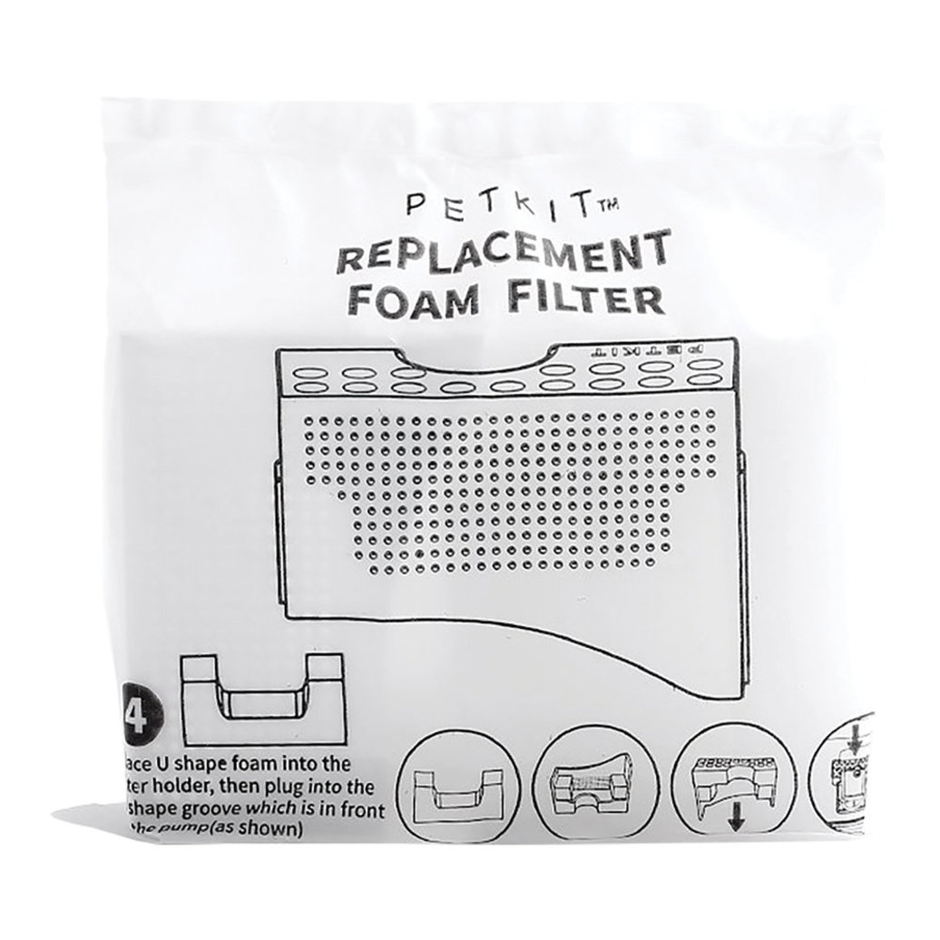 View larger image of Fountain Foam Filters - 4 pk