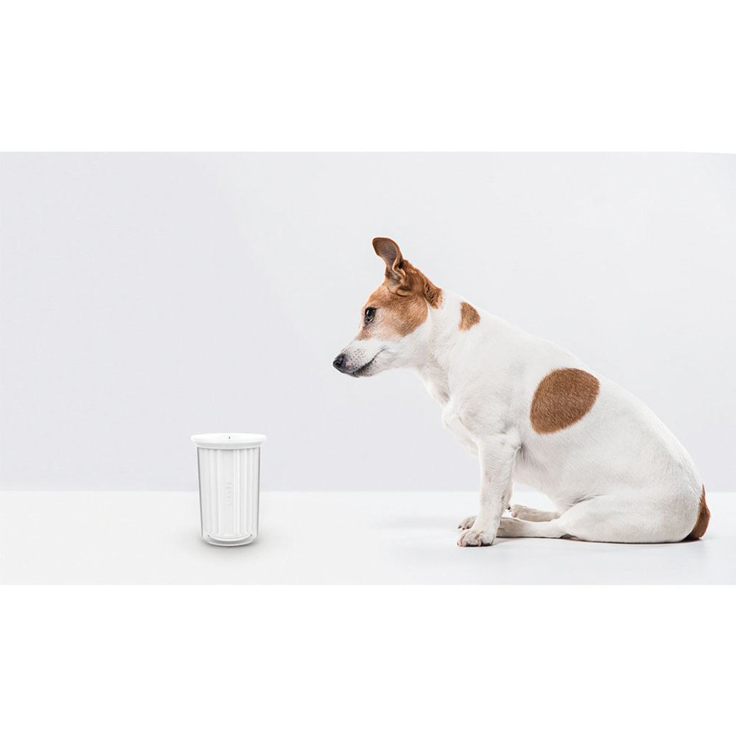 View larger image of Silicone Paw Cleaner & Massager - White