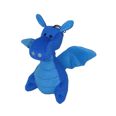 Darla The Dragon - Blue - 13""