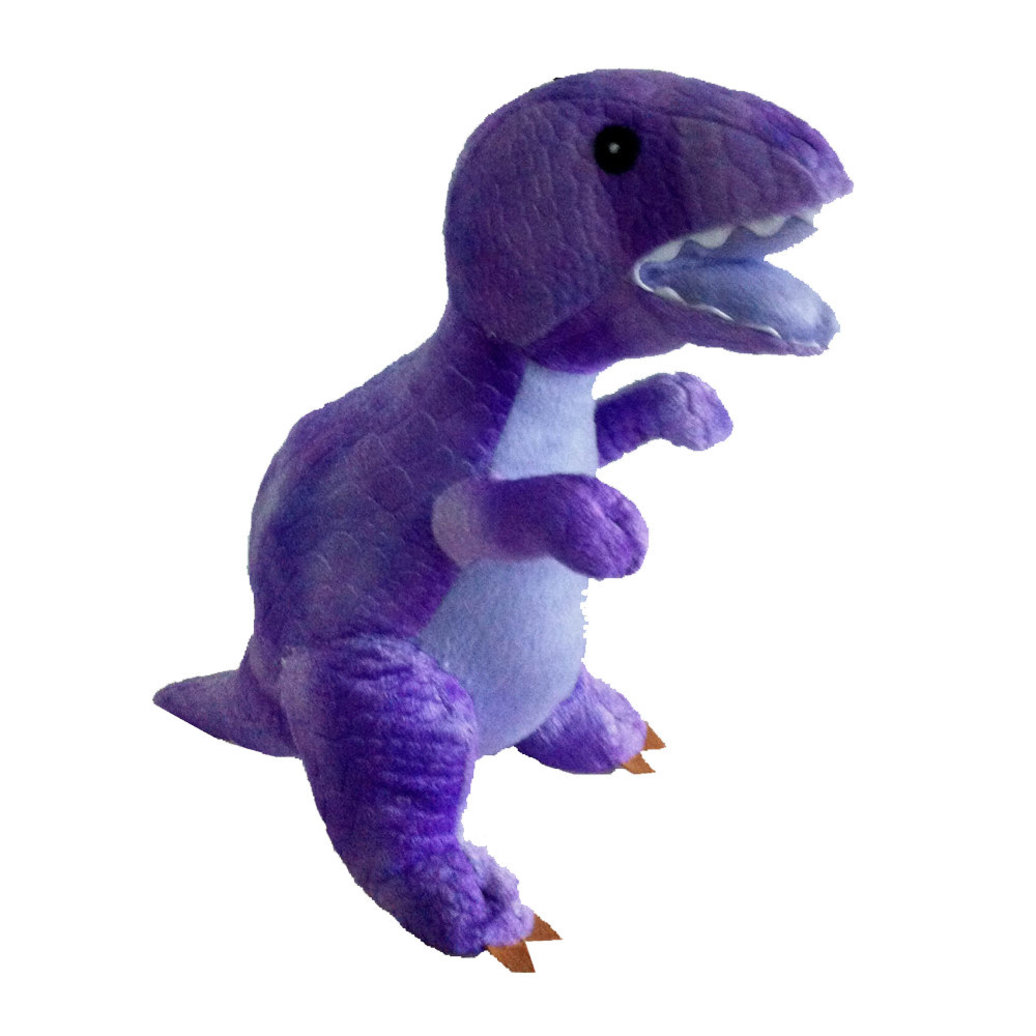 View larger image of Teddy Tyrannosaurus - Purple - 13""