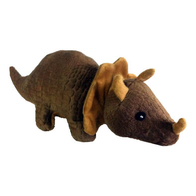 Tripp Triceratops - Brown - 13""