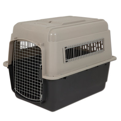 Ultra Vari Kennel - Linen/Black - 32x22.5x24""