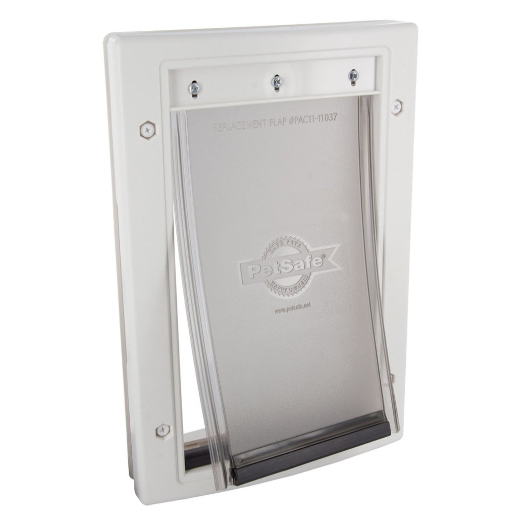 View larger image of Plastic Pet Door - White
