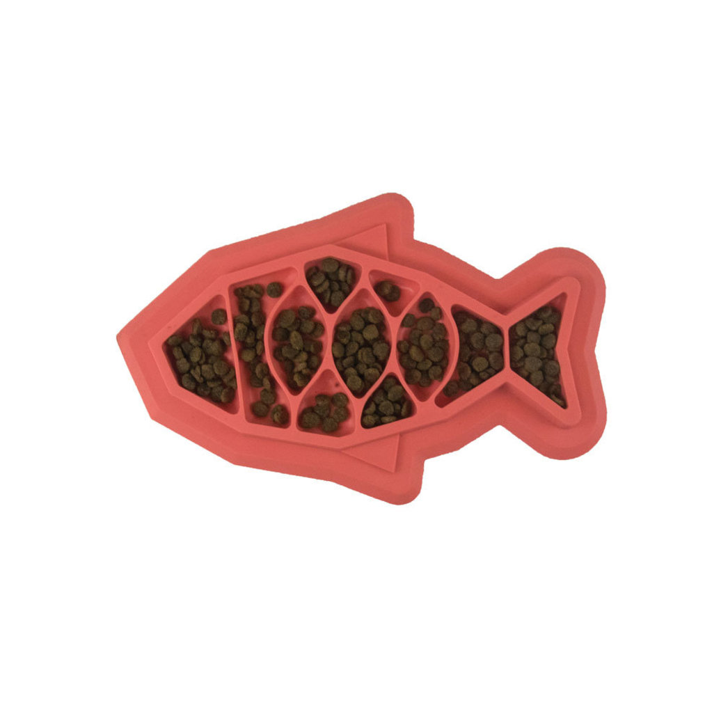 View larger image of Fishie Fun Feed Mat - Pink