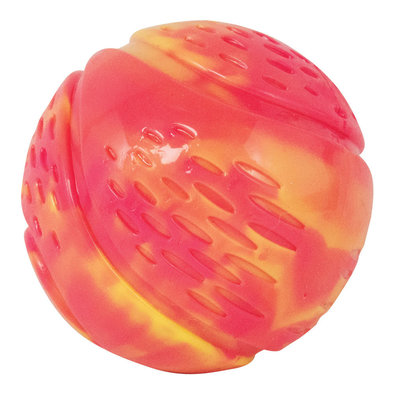 Grunt N Punt Tennis Ball - Yellow/Pink