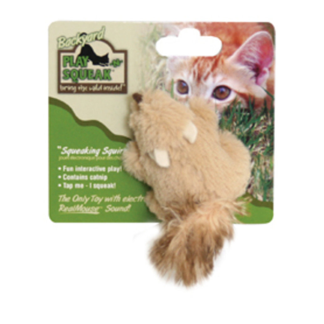 View larger image of Character Toys, Backyard Squeaking Squirrel