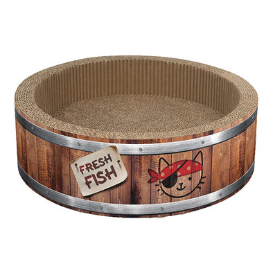 Play Pirates Barrel Scratcher - Small
