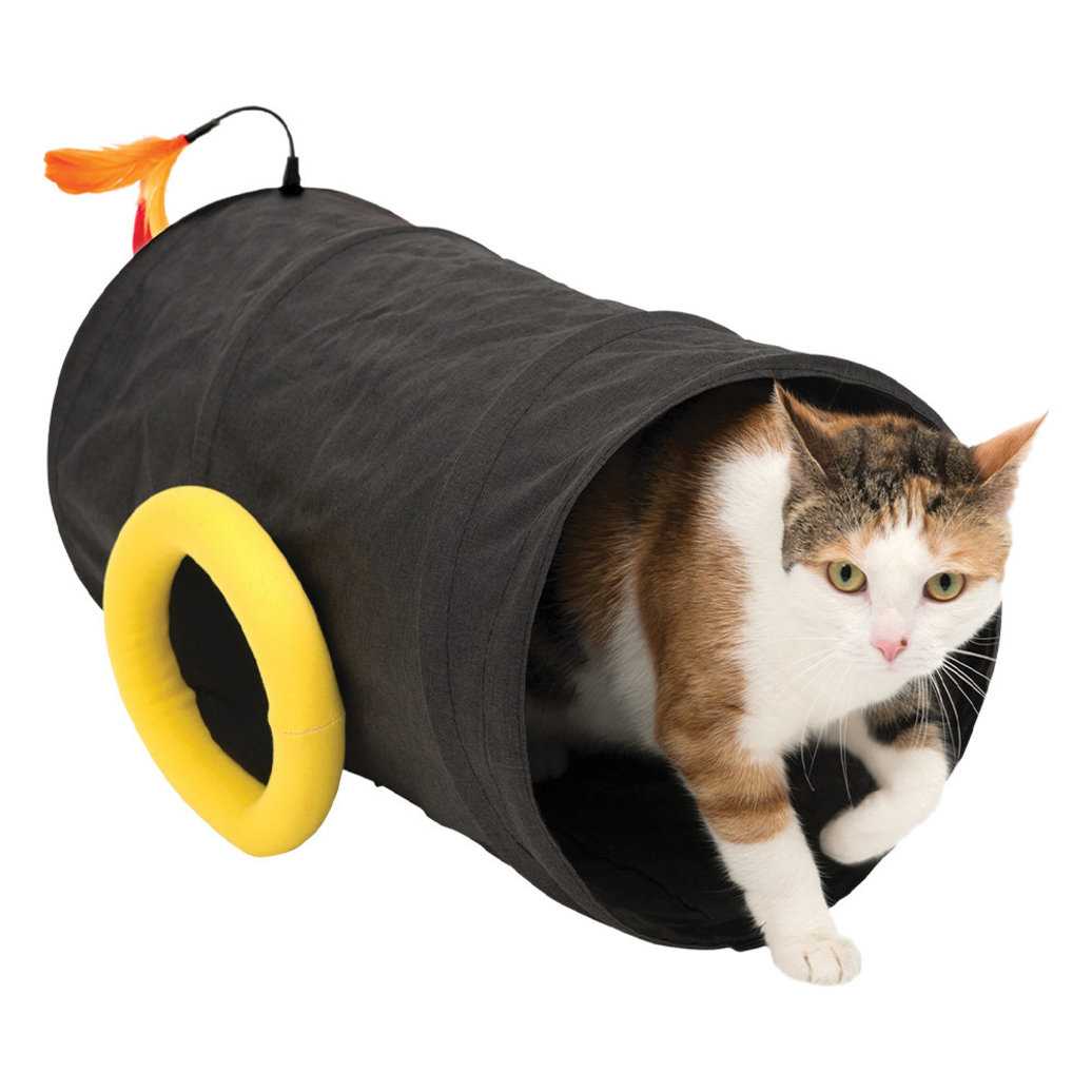 View larger image of Catit Play , Pirates - Cannon Tunnel - Black